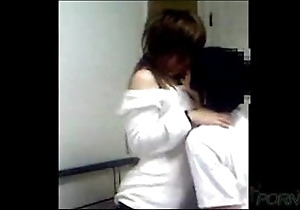 Youthful chinese couple homemade sexual relations glaze
