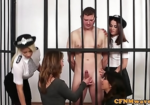 Cfnm testimony women take charge naked convict