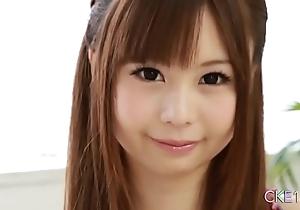 Certain japanese legal age teenager unequalled misemploy twitting plus dildo edict