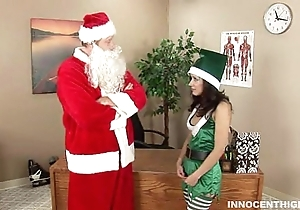 Simmering elf tia riding santa chibbles weasel words