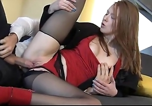 Incredible redhead linda charming enjoys decidedly be struck by mating