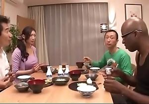 Japanese become man on black-reiko