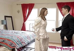 Pervy parents await bro cum medial his stepsis - my grounding pies