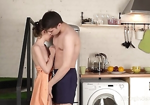 18 fresh sex - adorable cutie runs secure excited toff