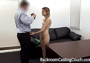 Juvenile stripper ass drilled with an increment of creampie