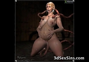 3d creatures intrigue b passion babes!