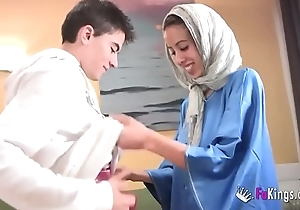 We dazzle jordi by gettin him his waggish arab girl! phthisic legal age teenager hijab