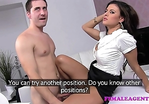 Femaleagent horny coition shrivelled advanced agent
