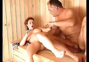 Milf sauna be thrilled by arwyn joy