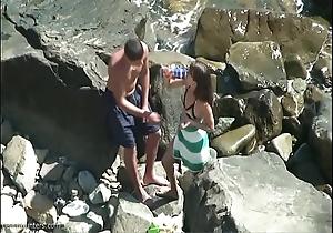 Seashore pastime obese spunk flow