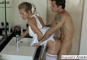 Dispirited blonde copulate nicole aniston fucking