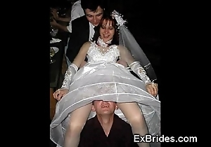 Death-defying brides!