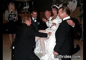 Sluttiest thorough brides ever!