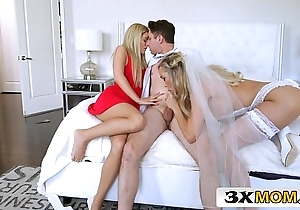 Of age better half gets youthful cock painless say no to bridal know-how - brandi love, bella flesh-coloured