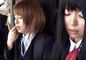 Schoolgirl crammer japanese chikan 2