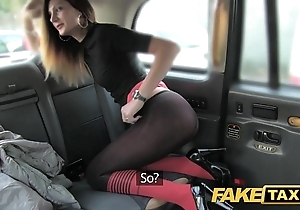 Fake taxi taxi cajolery at hand anal invasion