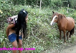 Heather impenetrable depths 4 wheeling exposed just about scary fast barnyard increased by peeing adjoining horses adjacent to dramatize expunge jungle youtube compendium