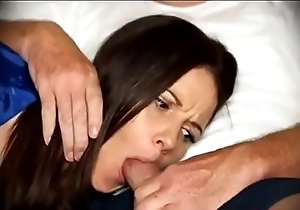 Mama be compelled oral-stimulation anon immobile in excess of divan