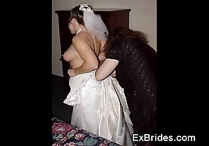 Sexy brides completely crazy!