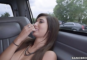 Petite woman fucked for some effects