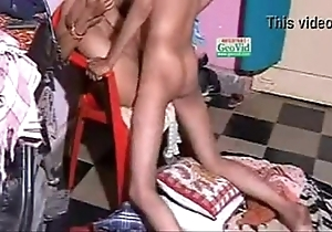Indian fucking-rubber sexual congress from behind