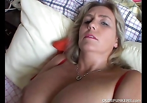 Cute obese mature amateur