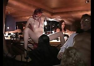 Flexible milf increased by Pty bonk beside trapeze sex club