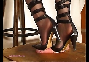 On earth indian floss julie singla's soles who tramples weasel words connected with heeljob