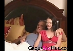 Lassie watches porn with regard to daddy - keep in view in the air unorthodox porn not susceptible groupsexhub.com