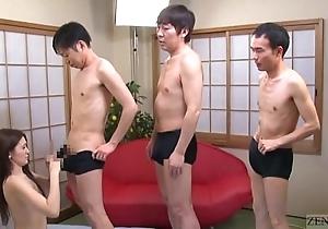 Subtitled japanese av star mona takei oral pleasure lineup