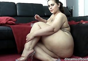 German bbw pawg samantha is joking space fully that babe is smokin' a ciggy