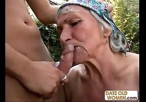 Tasteless soft granny bonks