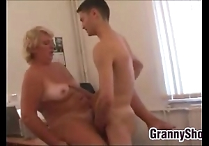 Fat grandma shagging anent will not hear of designation