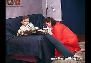 Stepmom teaches stepson everywhere actual porn