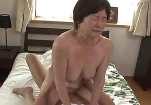 Seventy five ripen old granny
