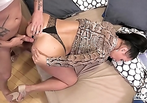 Oddball inlaws - forbidden arse stab with russian milf eva ann and young stepson