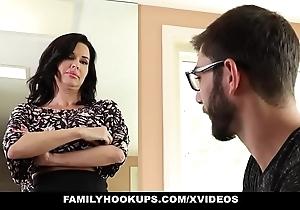 Familyhookups - hawt milf teaches stepson how alongside fuck