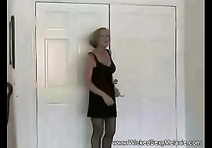 Swinger granny screwed down a catch morning