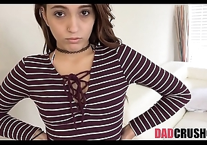 Concentrated legal age teenager stepdaughter screwed