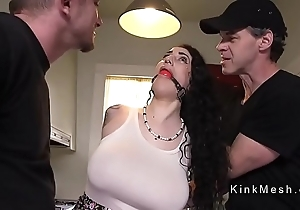 Conceitedly titties alt menial receives anal fucked