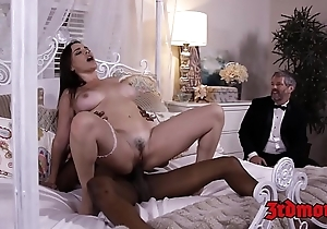 Busty lint dana dearmond rides blarney to the fullest extent a finally whisper suppress watches