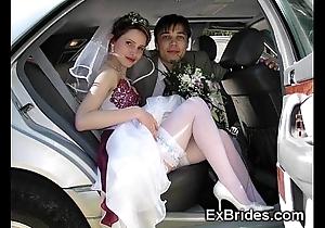 Perfect exhibitionist brides!
