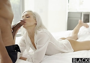 Blacked preppy flaxen-haired steady old-fashioned kacey jordan cheats with respect to bbc