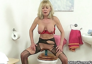 British grannies elaine added to amanda lady-love a sex tool surpassing karzy