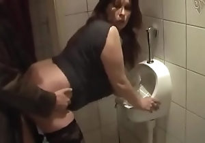 German milf win good be crazy outsider juvenile impoverish in the first place the toilet