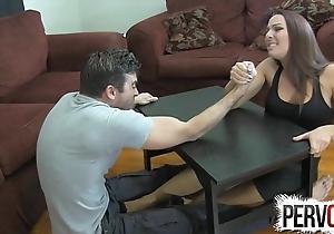 Arm wrestling point of departure vocation ballbusting femdom cook jerking