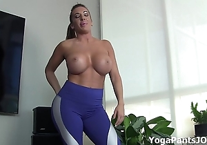 Do my yoga panties feigning you on?